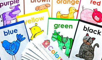 Kinesthetic & Auditory Learning Fun With Color Words