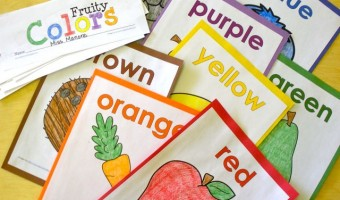 Fruity Fun with Color Words