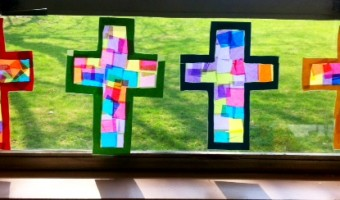 Lenten Crosses for Kinders