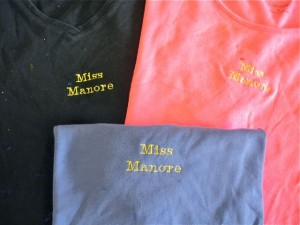 personalized paint smocks