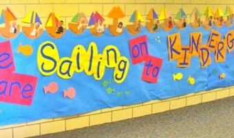Year-End Bulletin Board Display