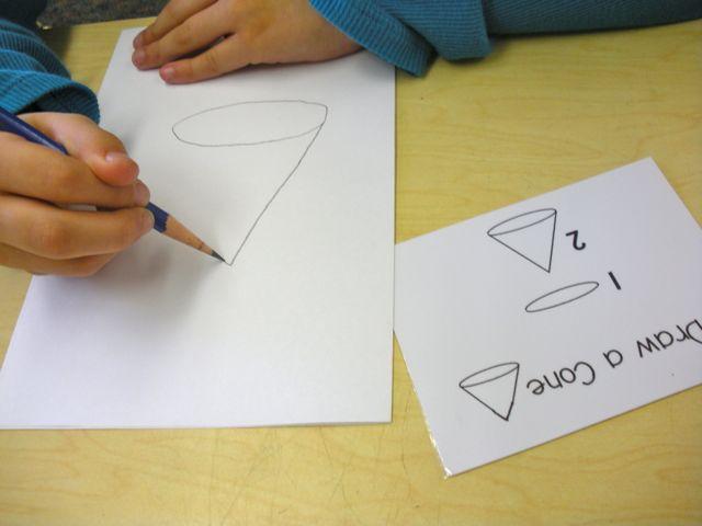 Draw-a-cone