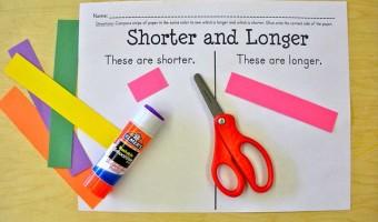 Hands-On Measurement FREEBIE for Kindergarten