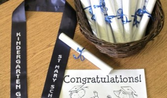 Kindergarten Graduation Preparation and Coloring Page FREEBIE!