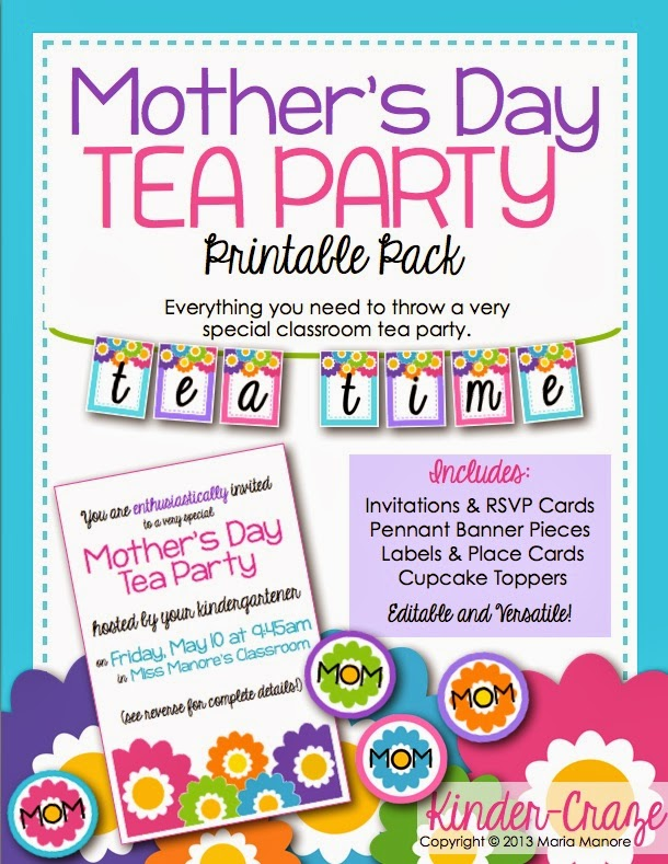 Mother's Day Tea Party Pics