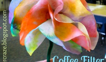 Coffee Filter Flowers Tutorial
