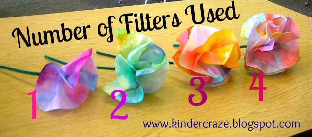 Coffee filter flowers tutorial finished flowers mightylinksfo Images