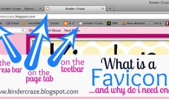 How to Install a Favicon in Blogger