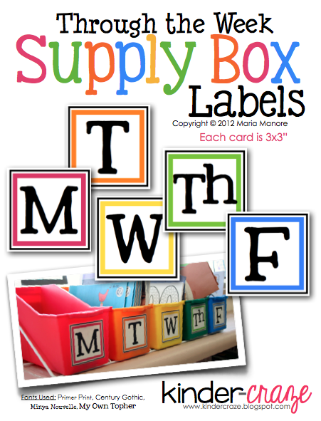 Through-the-Week-Supply-box-labels-free-from-Kinder-Craze-cover-pic