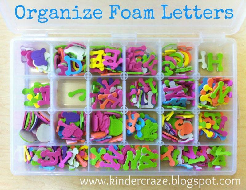 organize-letters