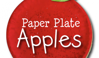 Paper Plate Apples