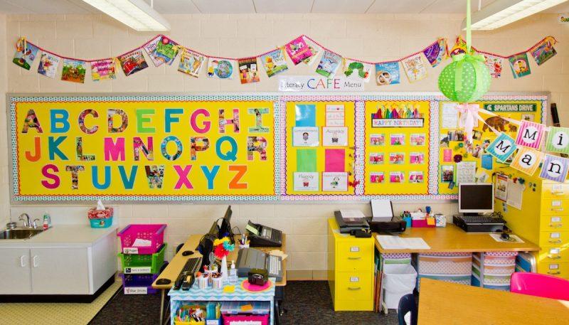 kindergarten classroom tour and organization