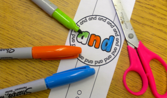 Time for Sight Word Watches GIVEAWAY