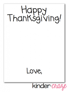 thanksgiving card template freebie