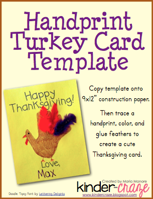 Turkey Card Cover Pic