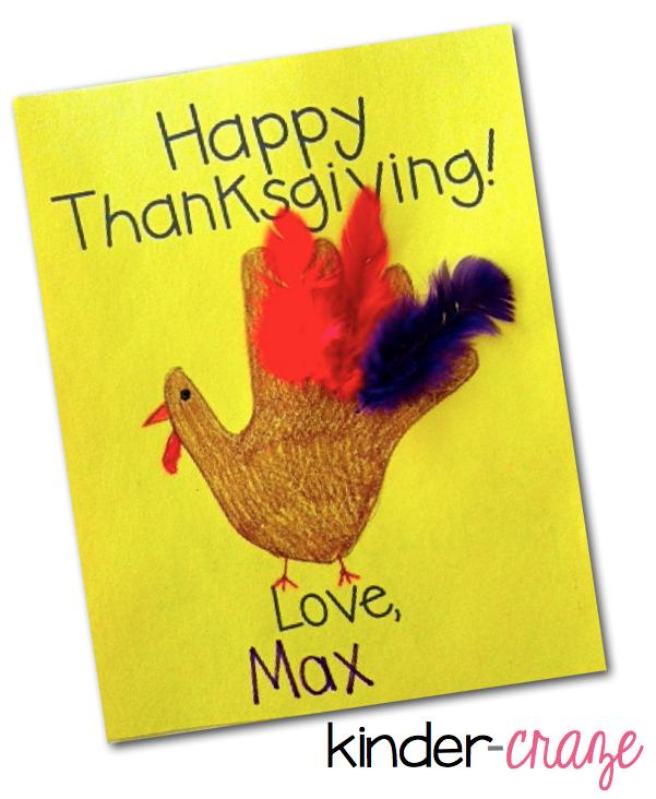 Thanksgiving Card Template Freebie