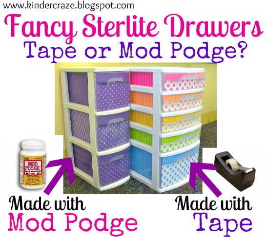 Sterlite Drawers Revisited A Follow,Up to Help You Fancy Up
