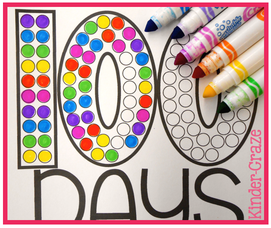 A hat for the 100th day colorcircles maxwellsz