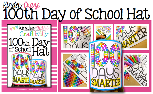 great project for the 100th day of school