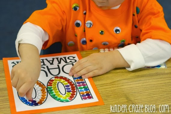 super-cute hat for the 100th day of school