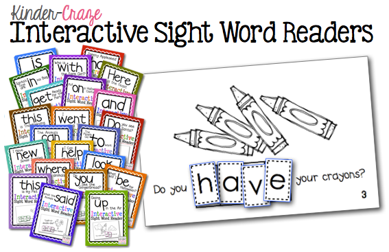 Interactive-Sight-Word-Readers-from-Kinder-Craze