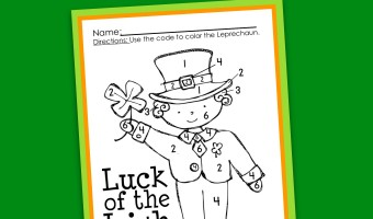 St Patricks Day Activities Emergent Reader A