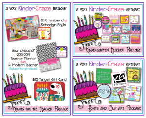 GIVEAWAY with 3 fabulous prize packages!