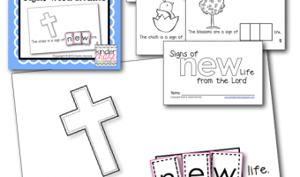 FREE Easter-Themed Interactive Sight Word Reader