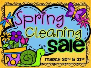 Kindercraze Spring Cleaning Sale