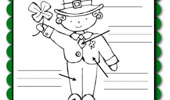 St. Patrick's Day Labeling FREEBIE