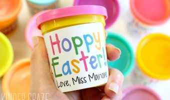 FREE Easter Treat Labels