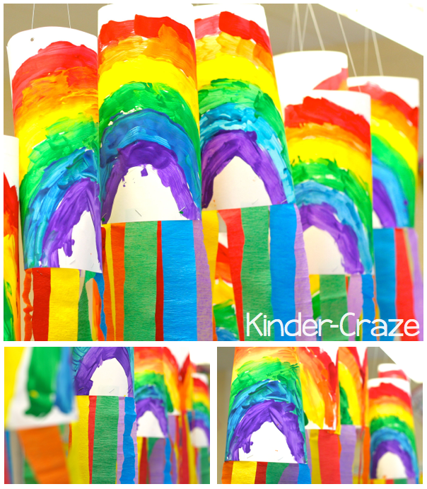 rainbow-wind-socks-hanging-collage
