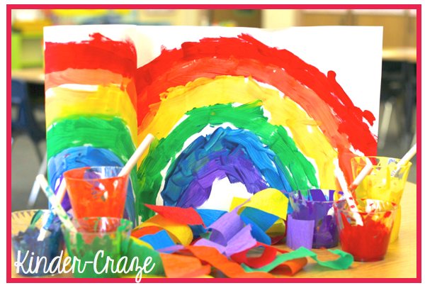 colorful rainbow windsocks