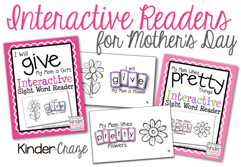 interactive-sight-word-readers-for-mothers-day