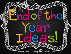 End of the year ideas for Kindergarten