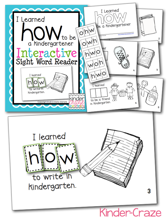 i-learned-how-to-be-a-kindergartener-interactive-sight-word-reader-kinder-craze