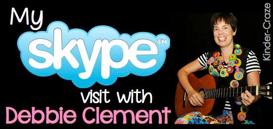 a Skype classroom author visit!