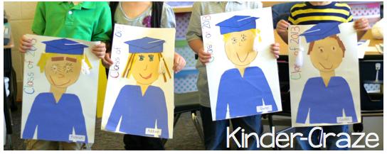 cute idea for Kindergarten Graduation!
