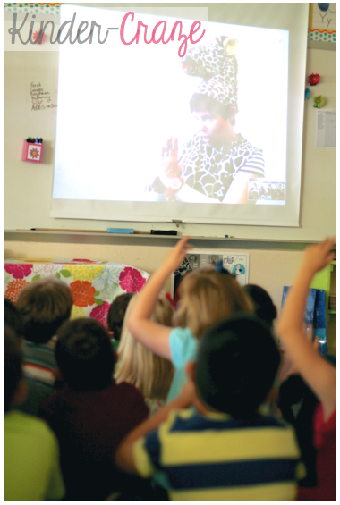 a Skype classroom author visit! Wow!