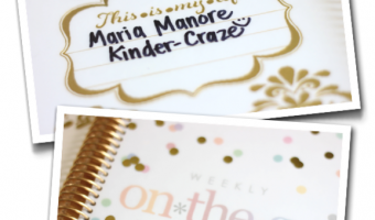 Erin Condren Life Planner Unboxing (and a GIVEAWAY)