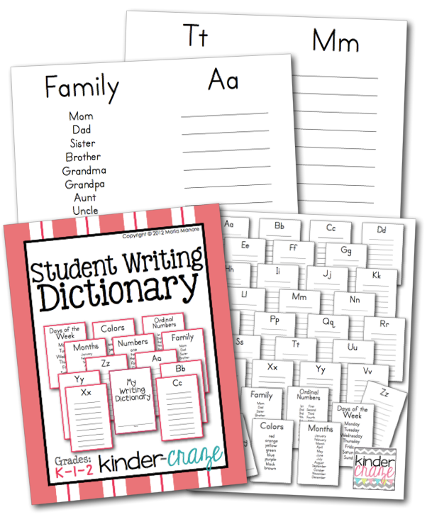 student-writing-dictionary-pages