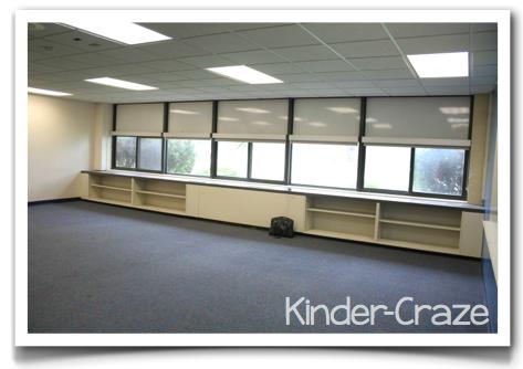 empty kindergarten room