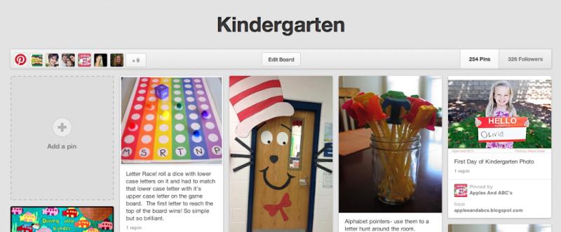 kindergarten-board