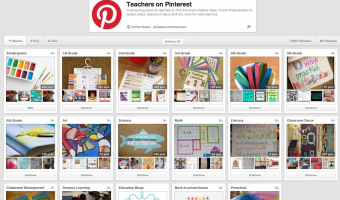Teachers on Pinterest… Don't Miss Any Great Ideas!