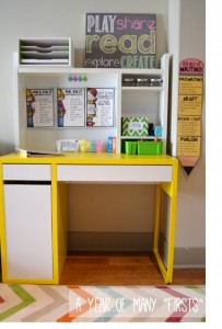cute and cheap Ikea classroom teacher desk