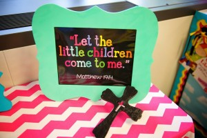 let the children come to me bible verse
