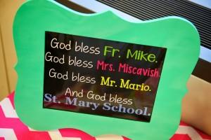 prayer of blessing for a kindergarten classroom