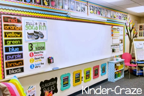 Wall Design For Kindergarten Classroom ~ Classroom reveal at last