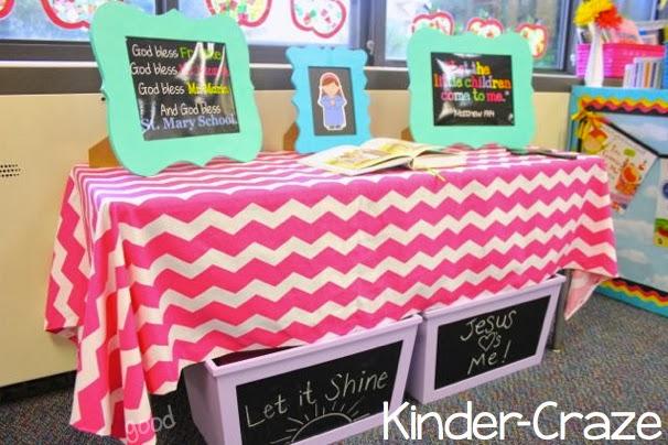 Classroom Prayer Ideas ~ Classroom reveal at last