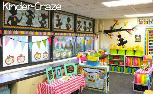 Classroom Chalk Decor ~ Classroom reveal at last